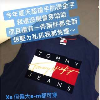 Tommy 無袖