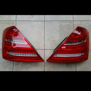 Brand New W221 S Class Mecedes Rear Tail LED Lamp