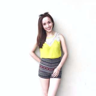 *REPRICED* Yellow Top