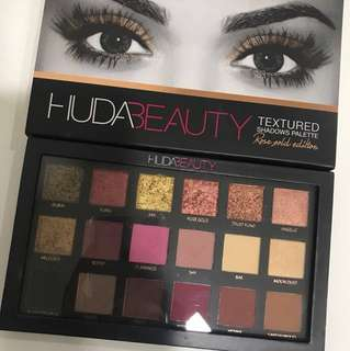 100% AUTHENTIC Huda Beauty Rose Gold Palette