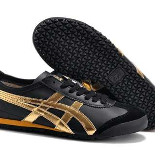 Authentic Onitsuka Tiger Mexico 66 Black Gold