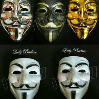 MASK TOPENG MUKA VENDETTA ANONYMOUS