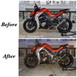 Simple Tyre Paint Service