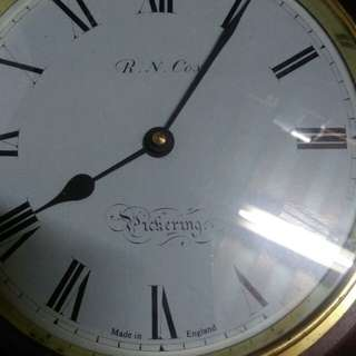 R.N.Cox  Pickering wall clock.