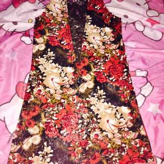 Floral Fitted Dress