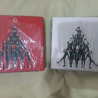 Exo M and K Christmas Album
