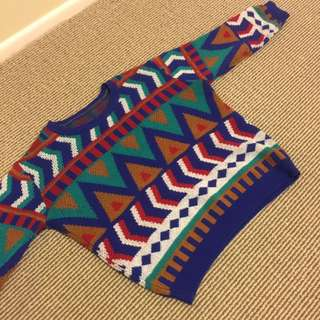 Hipster Tribal Sweater