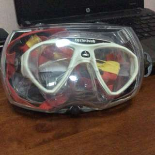 Technisub micromask (clear/white)