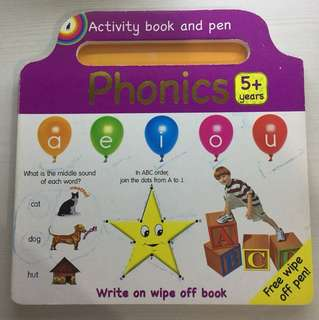 Wipe clean phonics