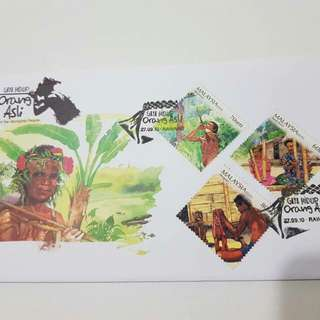 First Day Cover FDC Malaysia