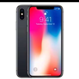 WTS iPhone X Space Gray 256GB