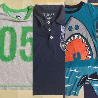 Bundled Shirts Size 3T