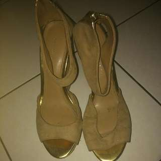 Wedges Nude Color Charles N Keith