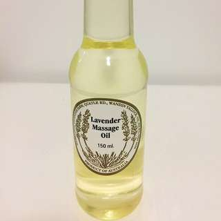 (In Stock)LAVENDER MASSAGE OIL 150ml (From Warratina Lavender Farm)