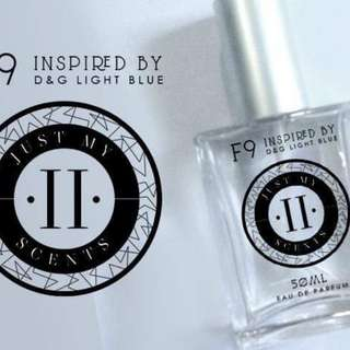 JUST MY SCENTS (50ML) - INSPIRED BY D&G LIGHT BLUE