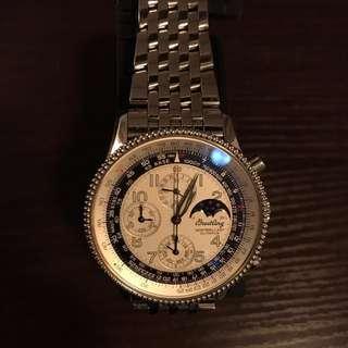 Breitling Montbrillant Olympus Watch 百年靈(not Rolex Omega Longines Swatch Seiko)
