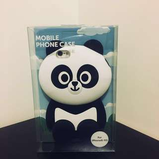 Line friends 手機殼 熊貓手機殼 胖友 貓熊 Mega Pangyo iPhone 6/6s 手機殼