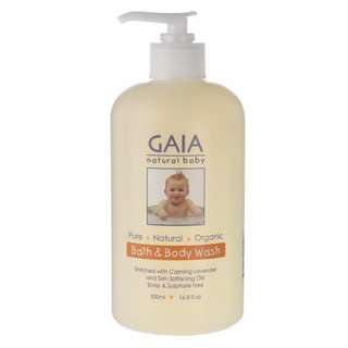 (In stock) GAIA Bath & Body Wash + Pump 500ml