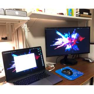 "24"" Full HD Samsung Monitor S24F350FHE"