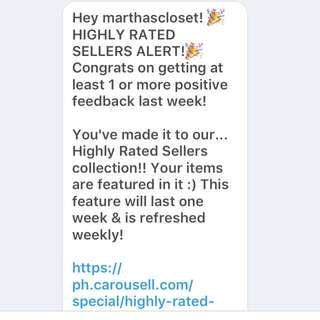 Thank you Carousell!!!!