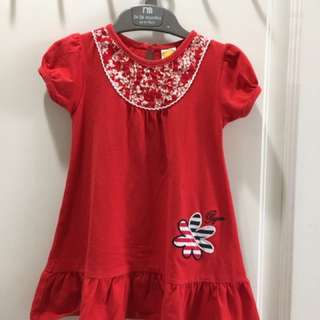 Pigeon red dress size:2
