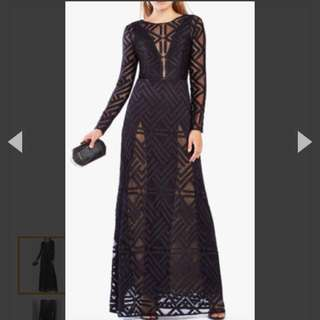 Brand New Women's BCBG Size 4 Veira Gown Orig. $650 Now $180