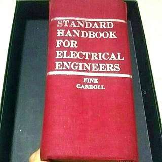 Standard Handbook For Electrical Engineers By Donald G. Fink & John Carroll (Hard Cover) For Sale