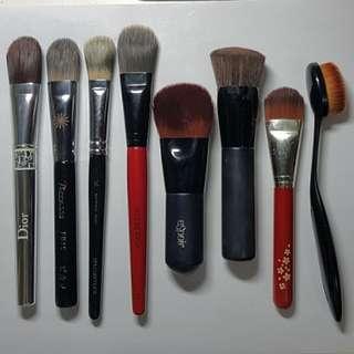 Foundation Brush 粉底掃 Dior Piccasso Shu Uemura Smashbox Espoir Kose Esprique Sana