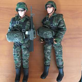1/6 scale custom soldiers