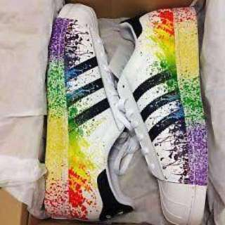Original Adidas Superstar Pride Pack