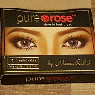 Contact Lense》 Brand New PUREROSE Lens in Sandy Brown -1.50