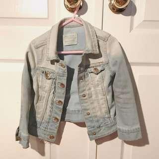 Zara Girls Denim Jacket Size 4/5