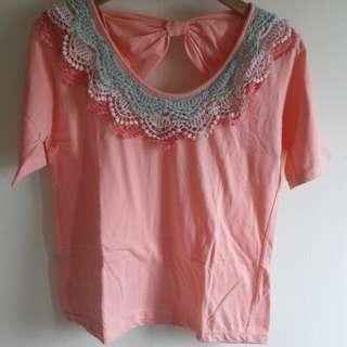 Pink Ribbon Bordir