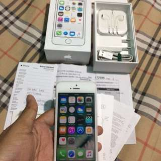 iPhone 5S ibox garansi aktif masih 4G LTE PA/A