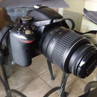 NIKON D5200 w/accessories  (best offer)