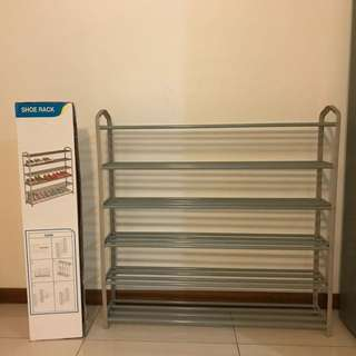 6-Layer Shoe Rack