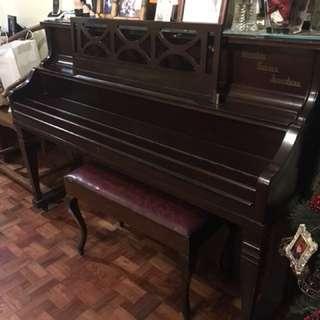 Piano, Weinstein Curvex Acoustic