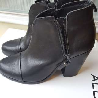 Rag & Bone Margot Black Leather Boots