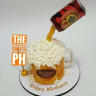 Red Horse Themed Cake