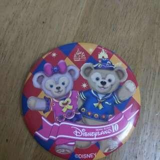 迪士尼10周年 duffy襟章