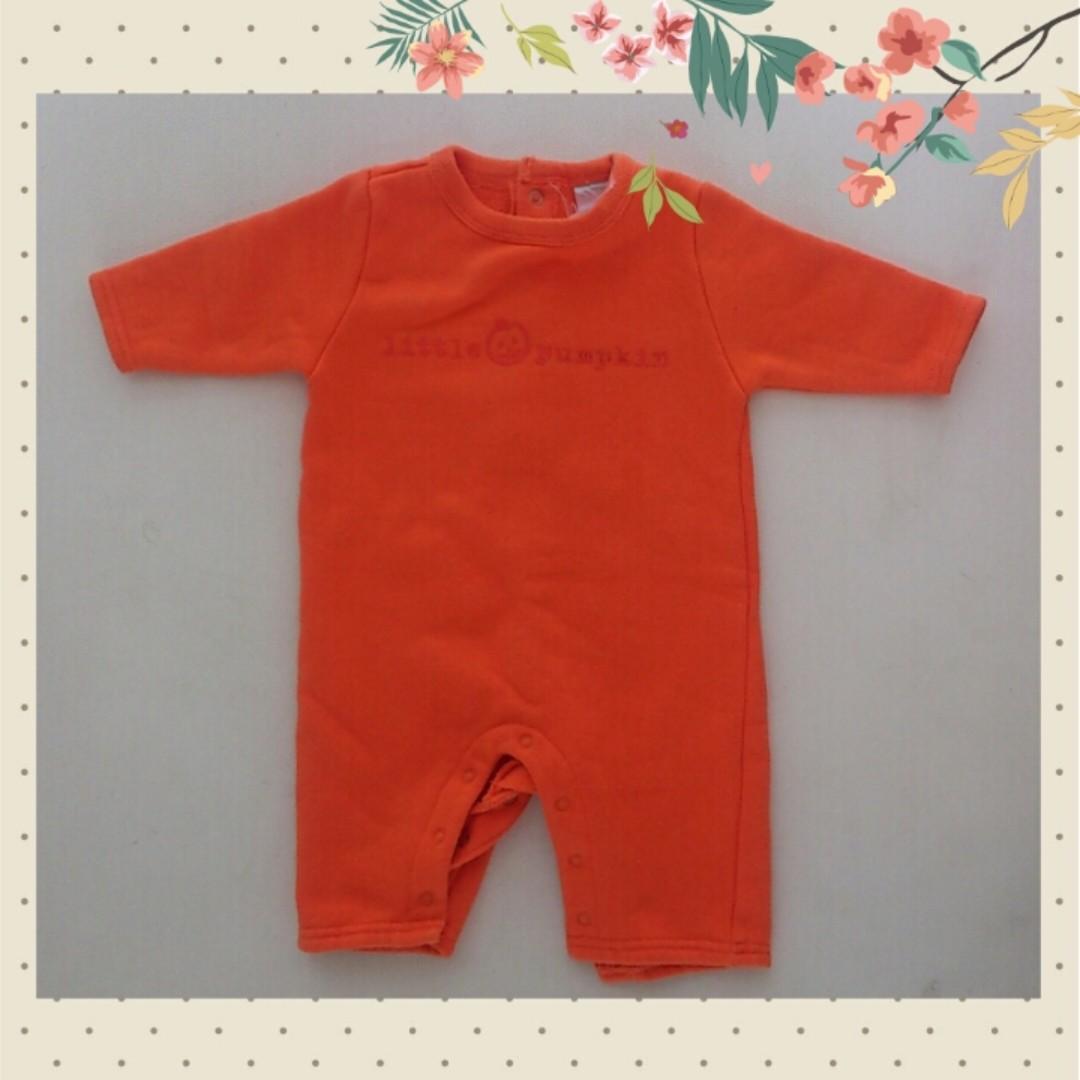 (2nd) Little Pumpkin Sleepsuit 3-6 m