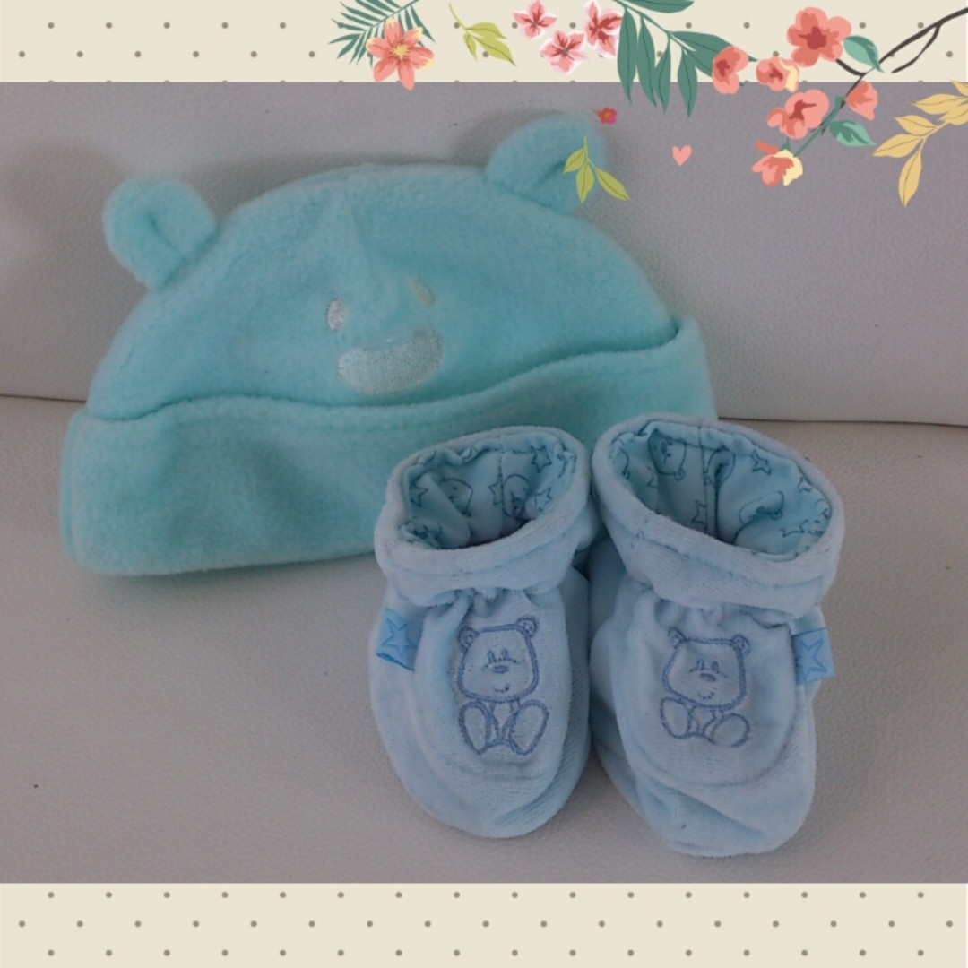 (2nd) Take all! Mothercare Baby Shoes & Ladybird Hat