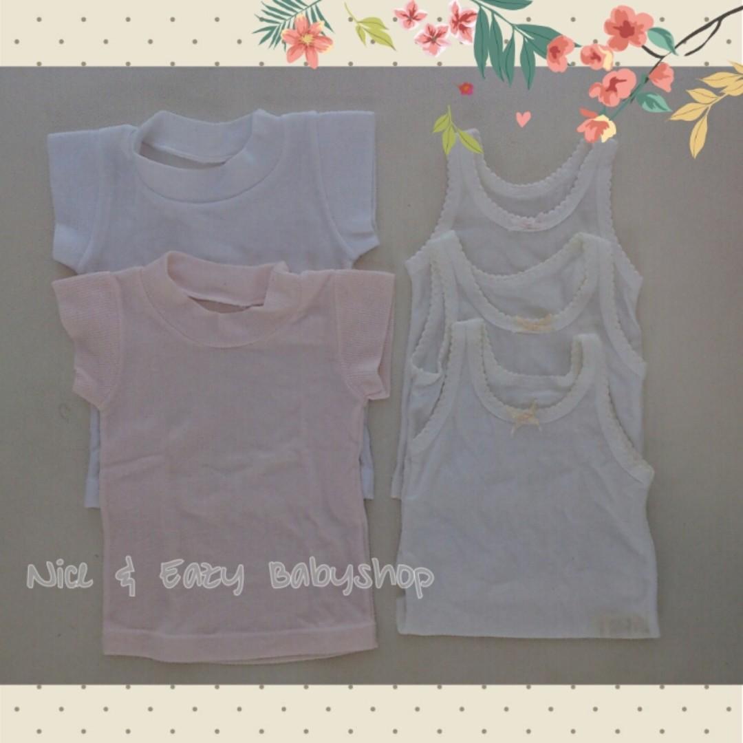(2nd) Take all! Singlet / Kaos dalam Bayi Perempuan 6-12 m