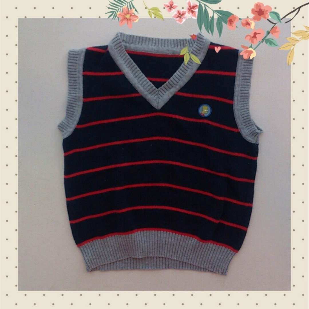 (2nd) The Simpsons Vest for Boy