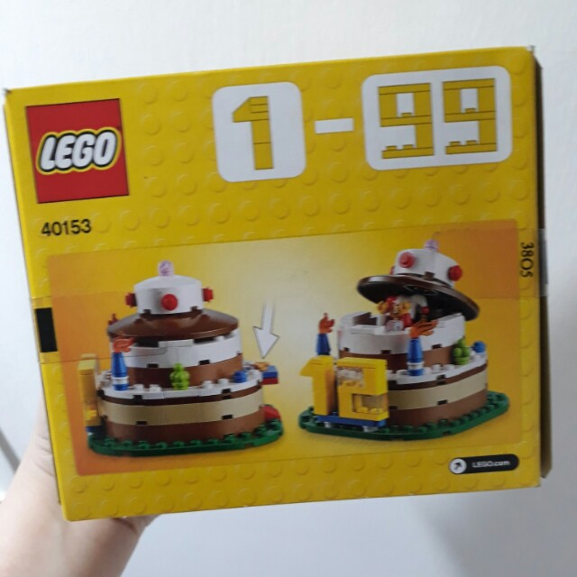 40153 LEGO Birthday Cake With Jester Minifig Topper Toys Games On Carousell