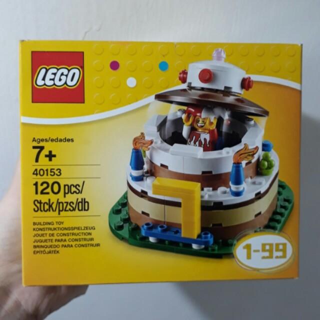 40153 LEGO Birthday Cake With Jester Minifig Topper Toys