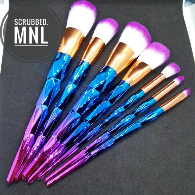 7pc Unicorn Brush Set