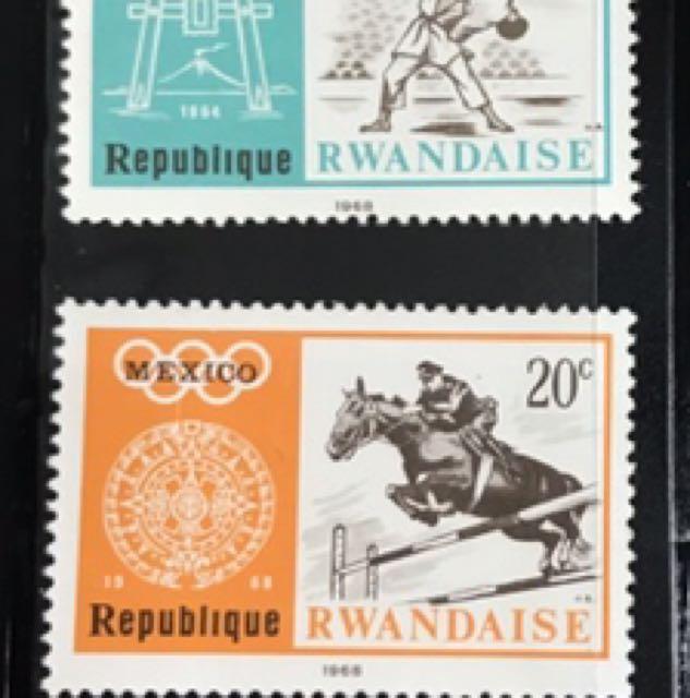 《蓋愛生活社》盧旺達郵票