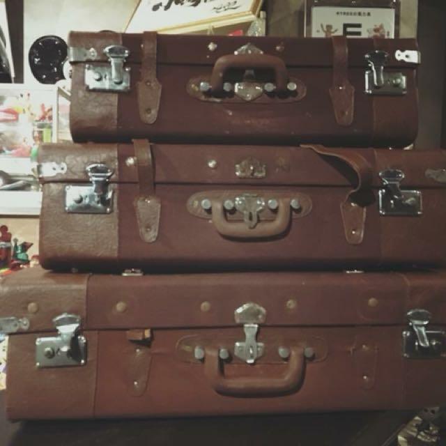 老皮箱三件組