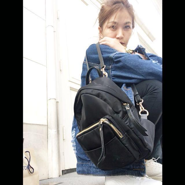 韓系時尚簡約牛津布後背包🎒